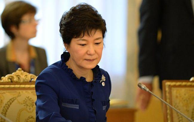 Фото: Пак Кын Хє подозревают в коррупции