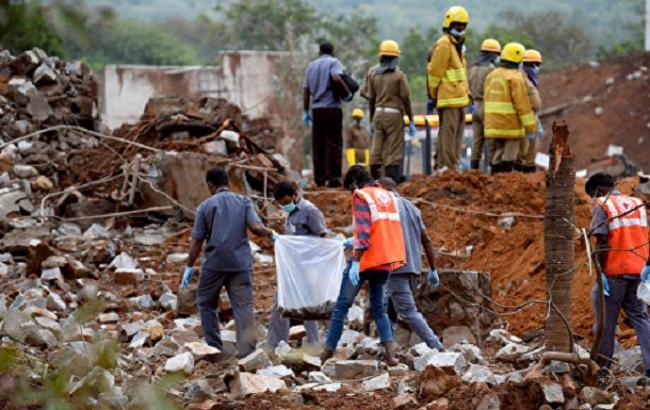 Фото: вибух в Індії