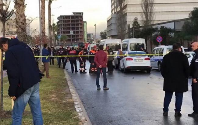 Появилось видео сместа взрыва втурецком городе Измир