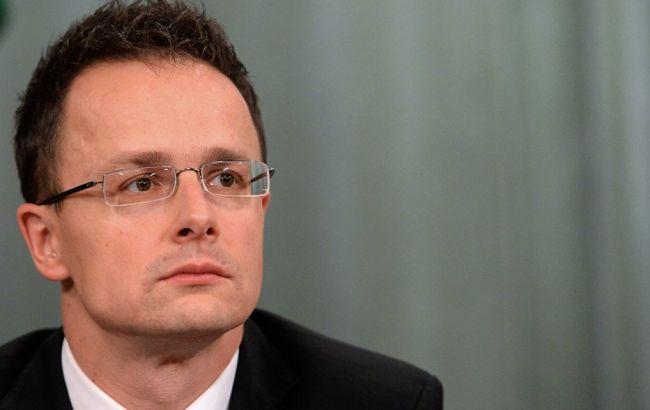 Глава МЗС Угорщини виступив за скасування санкцій проти Росії