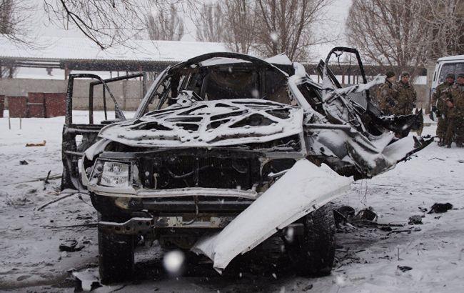 """У Луганську вибухнуло авто з главою """"управління народної міліції ЛНР"""""""