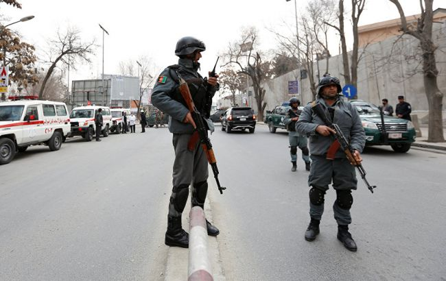 Фото: афганські поліцейські в Кабулі