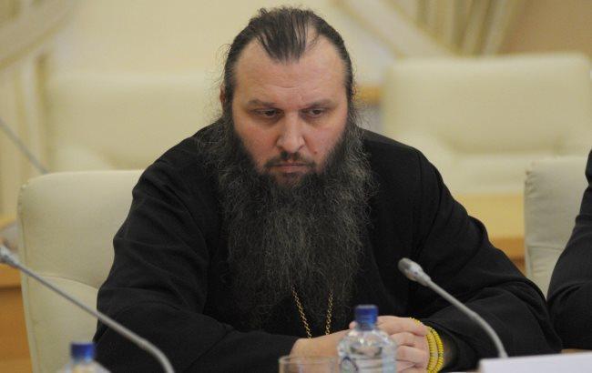 Фото: Священик-сепаратист Алексій Чаплін (riss.ru)