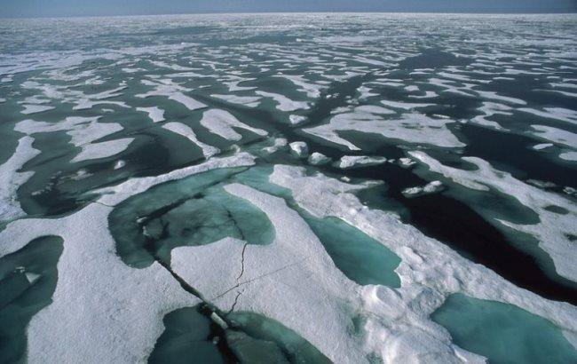 Стало відомо, чому в Арктиці зеленіє лід