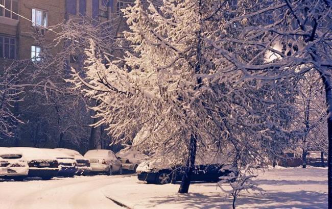 Фото: Снігова ніч (club.foto.ru)