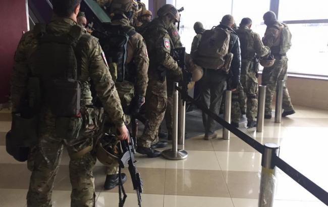 Фото: спецоперация подразделения КОРД