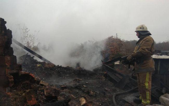 У Київській області під час пожежі загинули матір та син