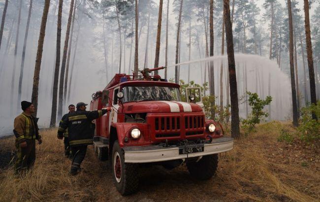 В Луганской области локализовали один из очагов пожаров