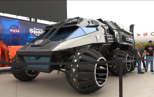 NASA показало внедорожник для поездок на Марсе