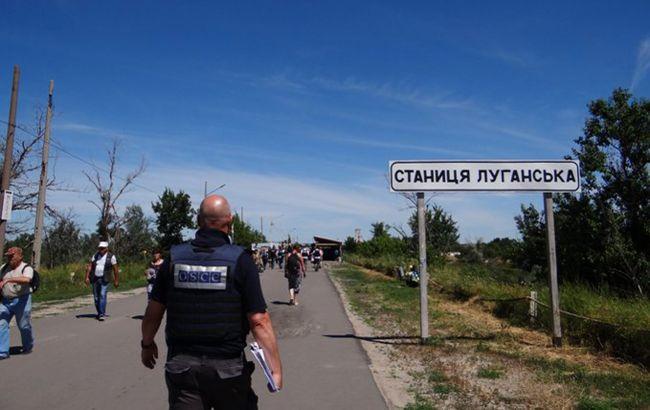 Миссия ОБСЕ впервые с начала работы на Донбассе не зафиксировала нарушений