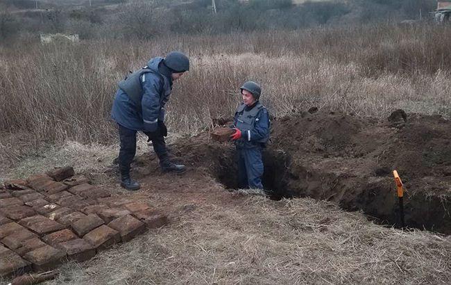В Харьковской области в жилом секторе обнаружили более 60 боеприпасов