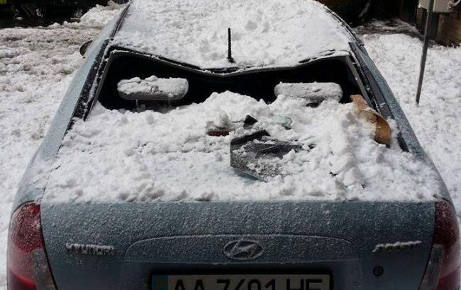 Фото: Разбитый автомобиль (facebook.com)