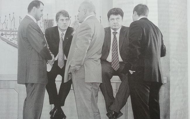 Фото: Архивное фото Ющенко и Порошенко (facebook.com)