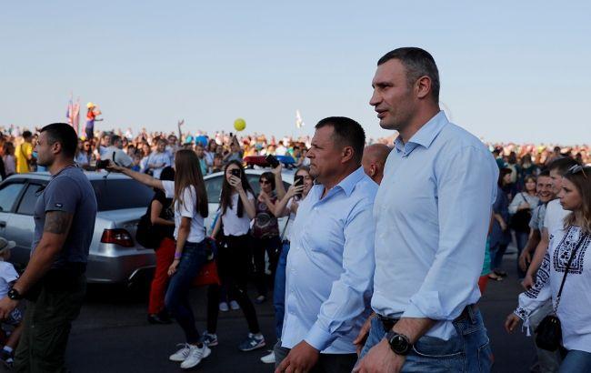 Фото: Кличко та Філатов