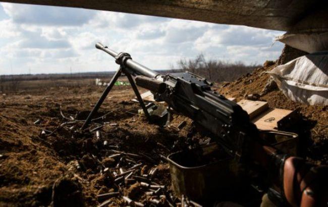 Фото: обстрелы в зоне АТО