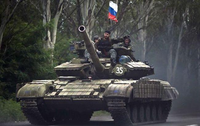 Фото: военные РФ на Донбассе