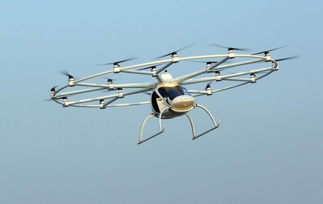 Первое вмире летающее такси проходит тесты вДубае