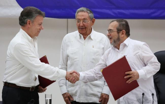 Колумбийское движение ФАРК объявило об заключительном перемирии