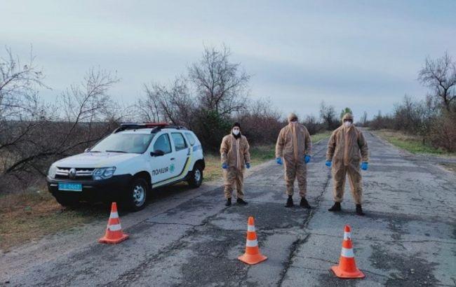 В Херсонской области закрыли еще один населенный пункт из-за вспышки COVID-19