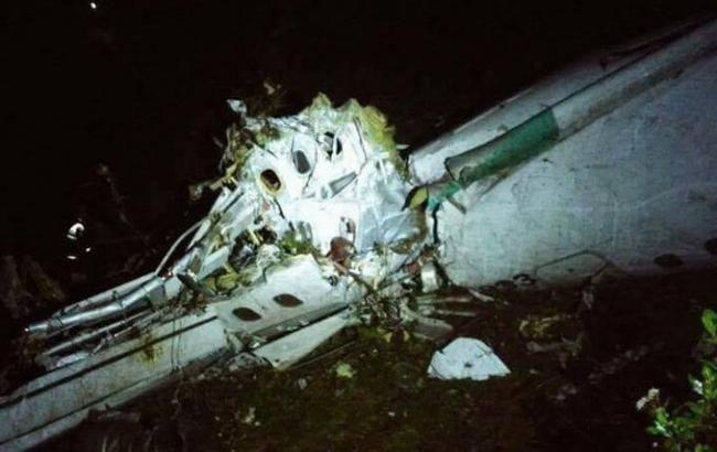 Фото: авиакатастрофа в Колумбии