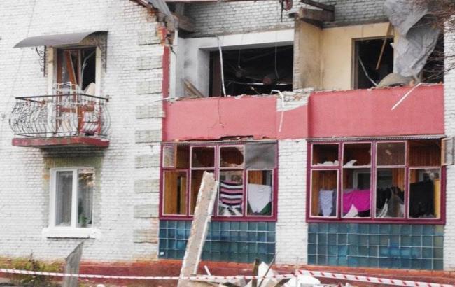 Фото: взрыв газа в Волынской области