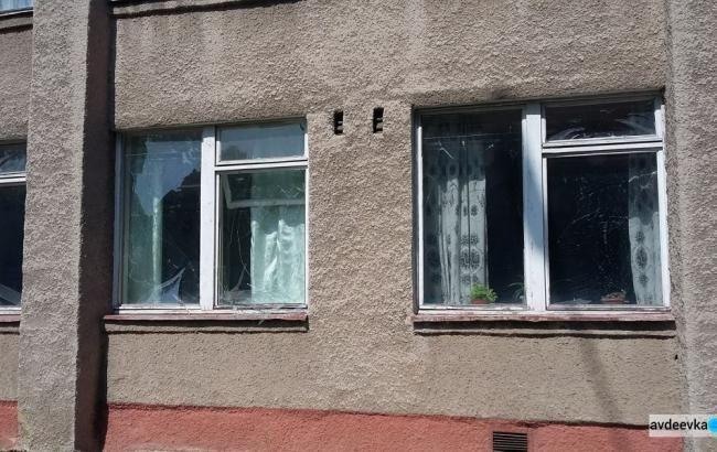 Фото: наслідки обстрілу бойовиків (avdeevka.city)