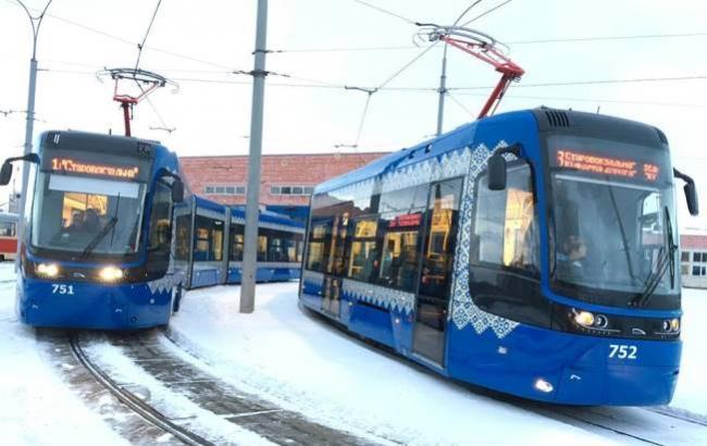 Фото: Новий трамвай у Києві (Facebook)