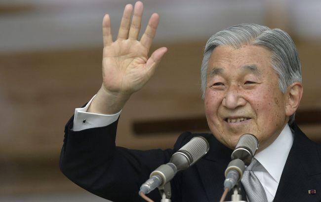Фото: імператор Японії Акіхіто