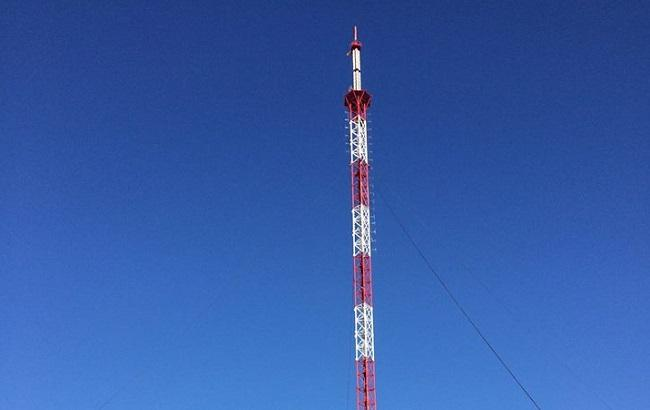 Фото: восстановленная телевышка на Карачуне