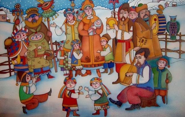 Фото: На Старый Новый год щедруют дети и взрослые (facebook.com/vgorode.kharkov)