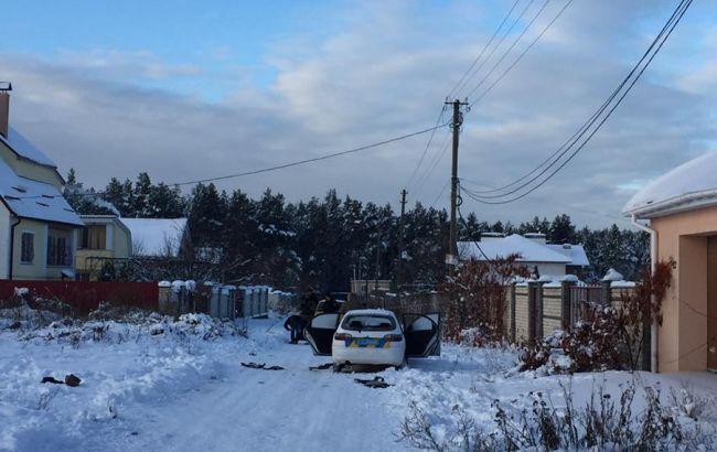 Фото: перестрелка в Киевской области