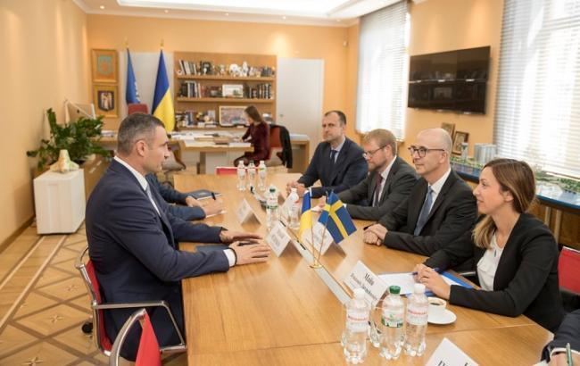 Фото: Виталий Кличко на встрече с представителями ІКЕА (kiev.klichko.org)