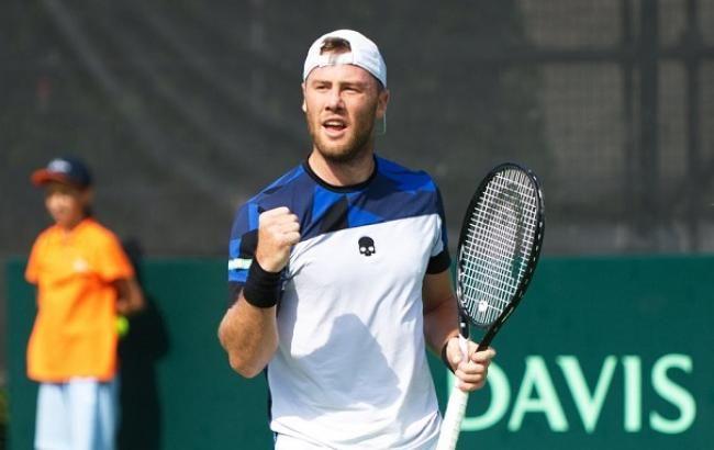 Украинский теннисист Марченко оформил первую победу в текущем сезоне
