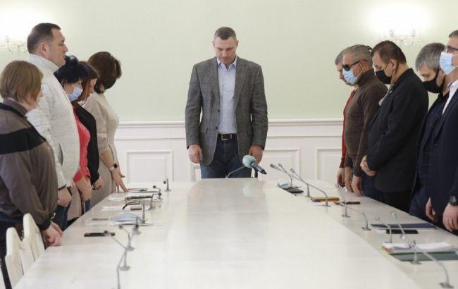 Кличко зустрівся з родинами Героїв Небесної сотні та учасниками Революції гідності