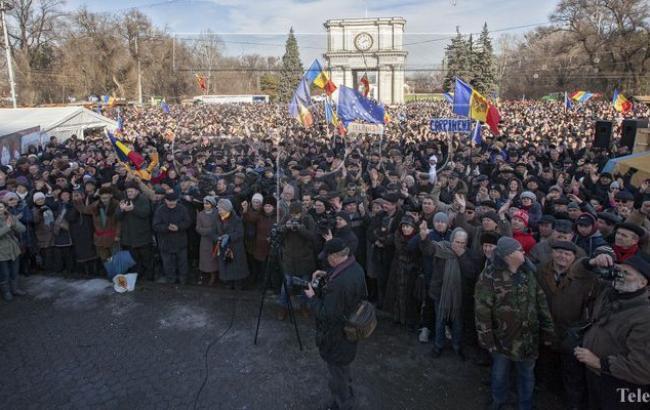 Фото: В Молдове продолжаются антиправительственные протесты