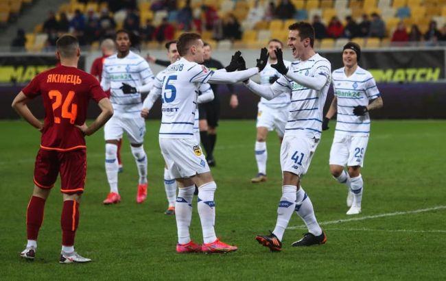 Динамо впевнено перемогло Львів і збільшило відрив від Шахтаря