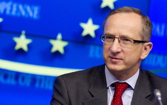 Фото: глава Представництва ЄС в Україні Ян Томбінський