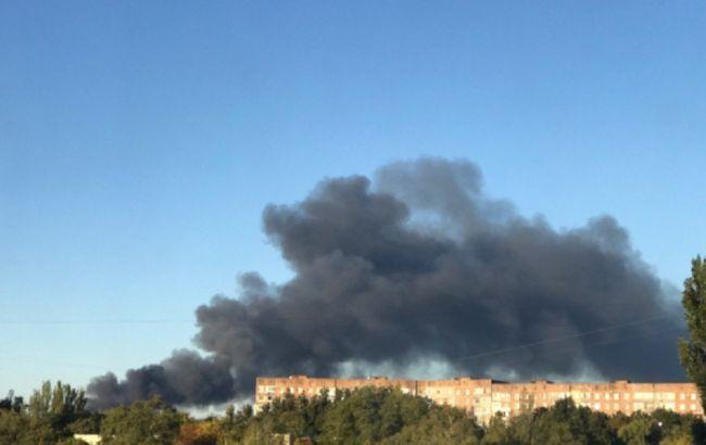 В окупованому Донецьку евакуйовують жителів через вибухи на складі боєприпасів