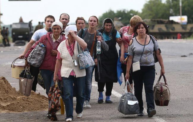 Фото: переселенці в Україні