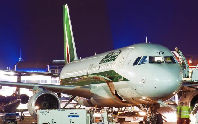 Alitalia запустит ежедневные рейсы между Киевом иРимом