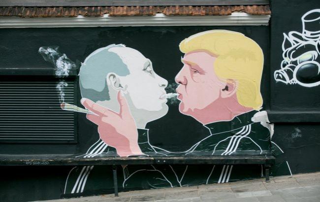 Фото: Карикатура на Путина