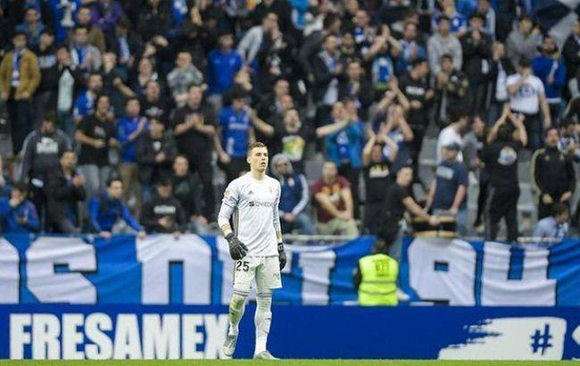"""Лунін є фаворитом на місце другого воротаря """"Реала"""""""