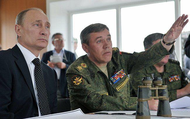 Фото: Владимир Путин и Валерий Герасимов