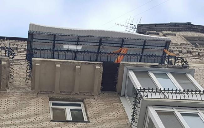 Фото: Новый балкон на Печерске