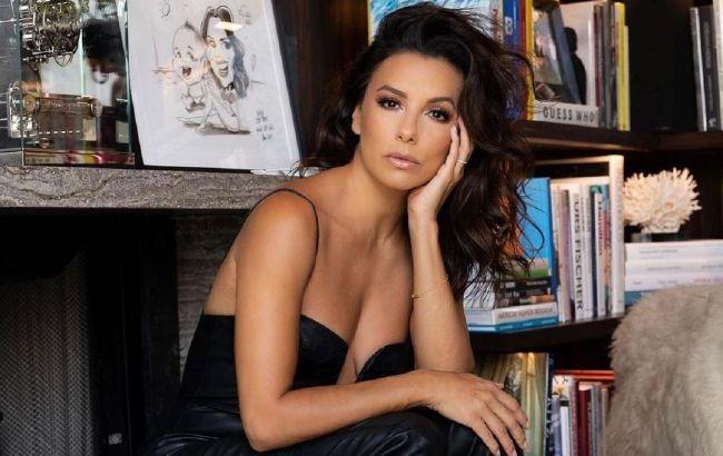 Роскошная женщина: 46-летняя Ева Лонгория в вечернем образе восхитила сеть красотой