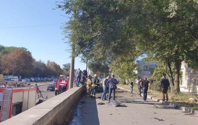 Взрыв автомобиля в Днепре квалифицировали как теракт
