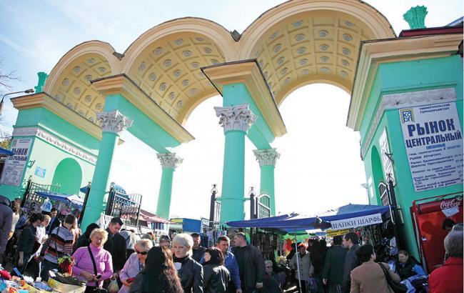 Фото: Центральный рынок в Симферополе