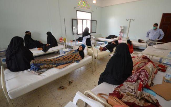 Фото: вспышка холеры в Йемене