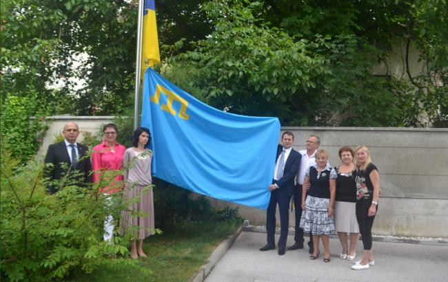 Фото: Дипломати посольства України в Словенії (twitter.com/UKRinSVN)