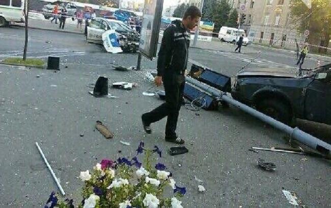 Фото: наслідки аварії